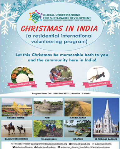 CHRISTMAS IN INDIA 2017